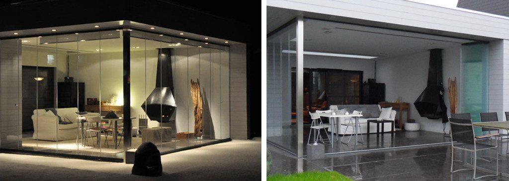Cerramientos de aluminio y cristal de terrazas en Valencia