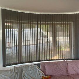 Instalación de cortina verticales Bandalux